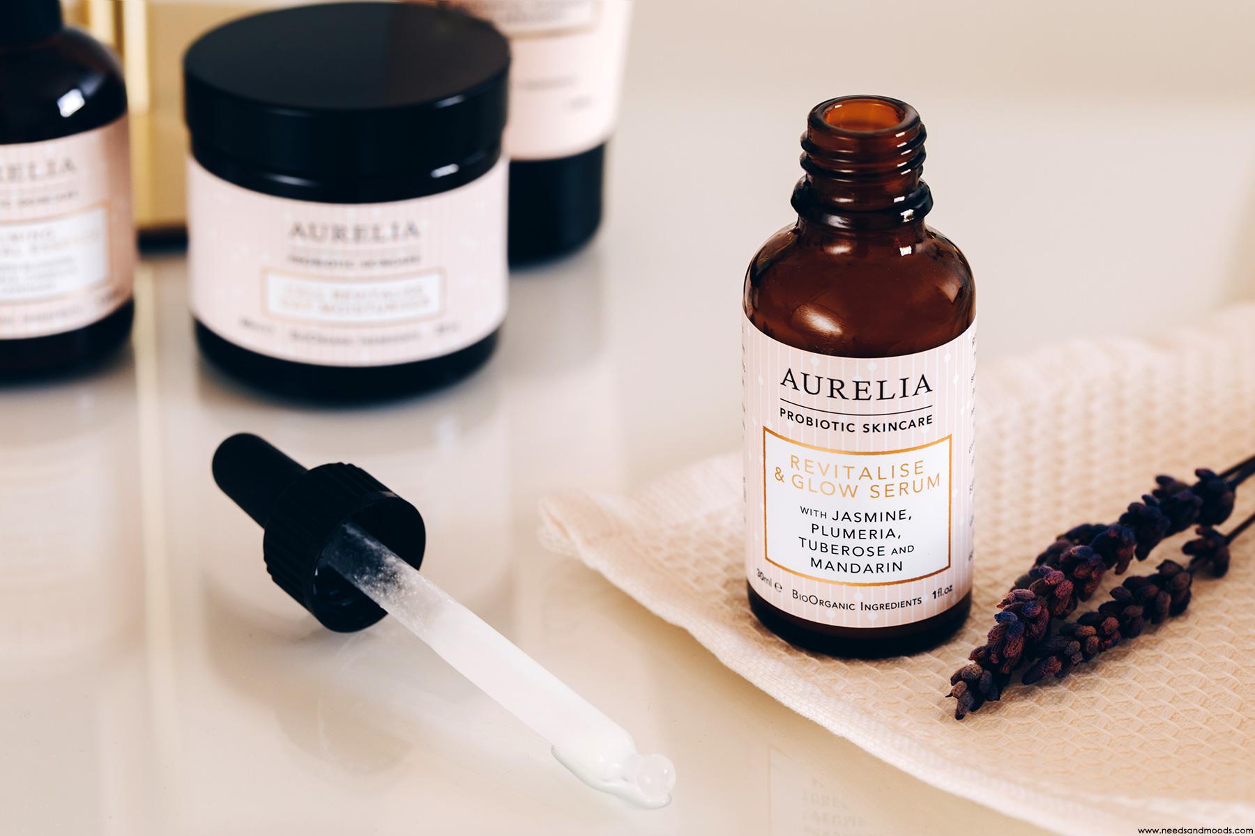 aurelia probiotic revitalise glow serum