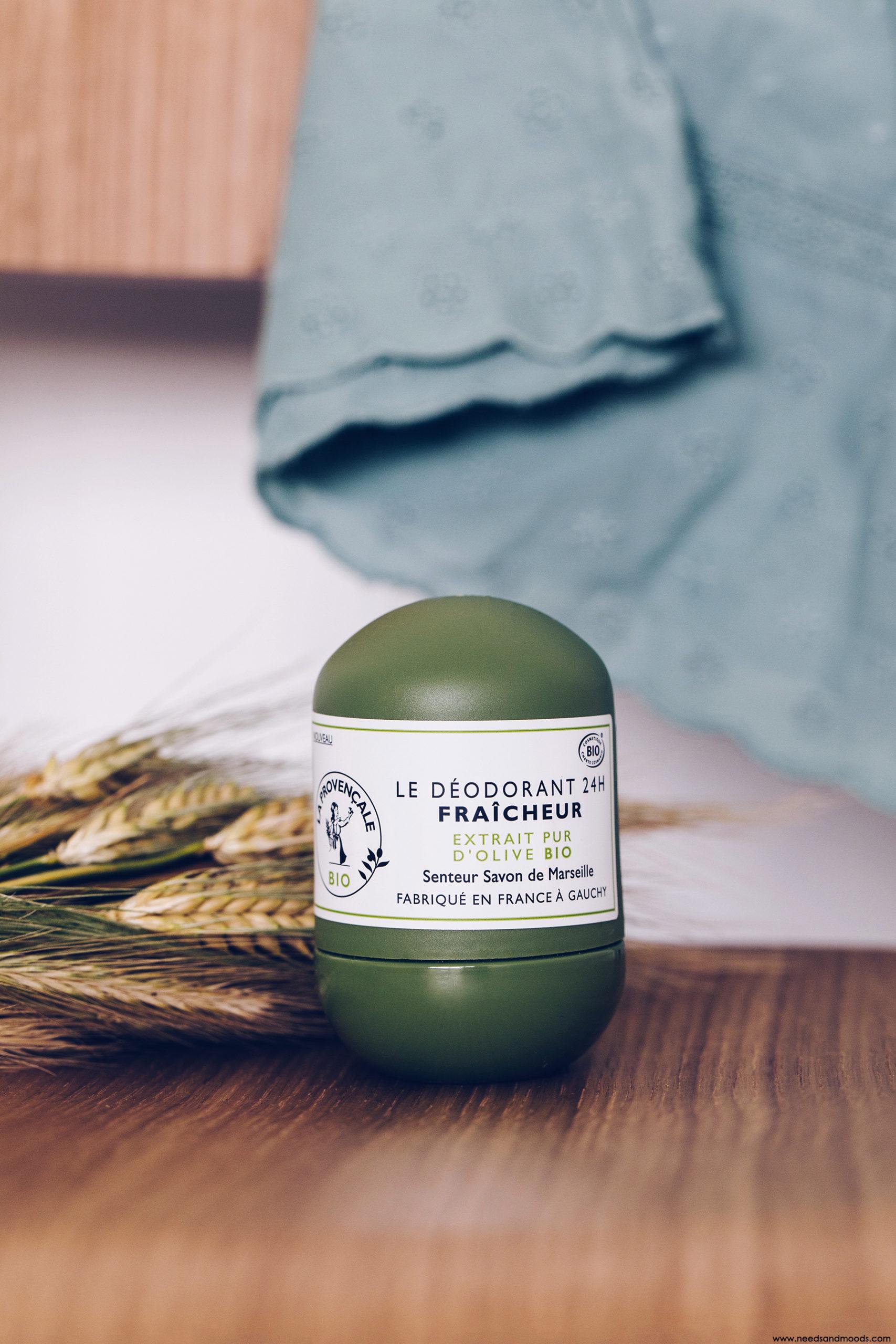 la provencale bio deodorant fraicheur 24H