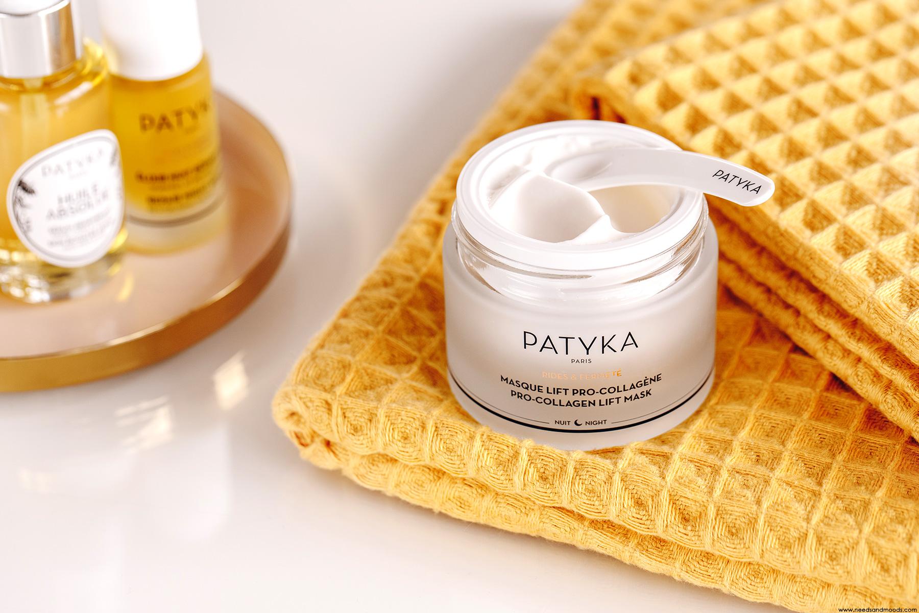 patyka masque lift pro-collagene