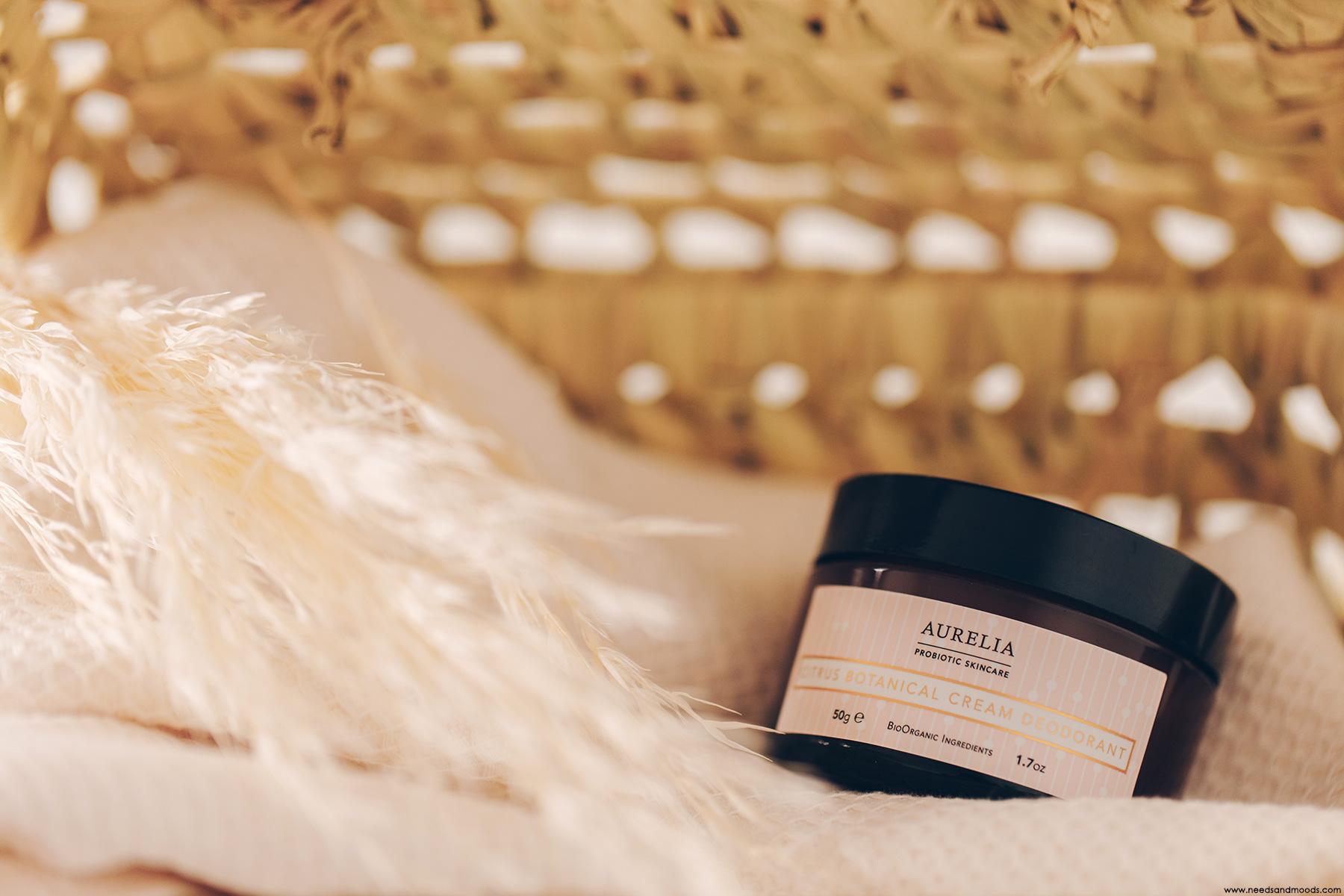 aurelia probiotic citrus botanical cream deodorant avis