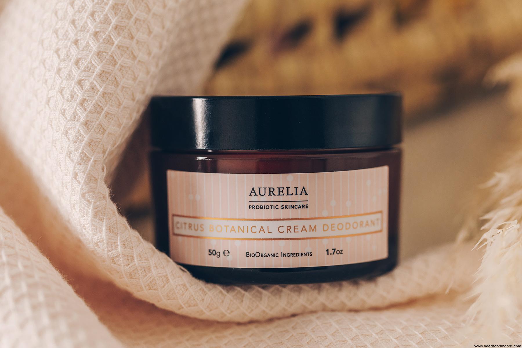 aurelia probiotic skincare deodorant avis