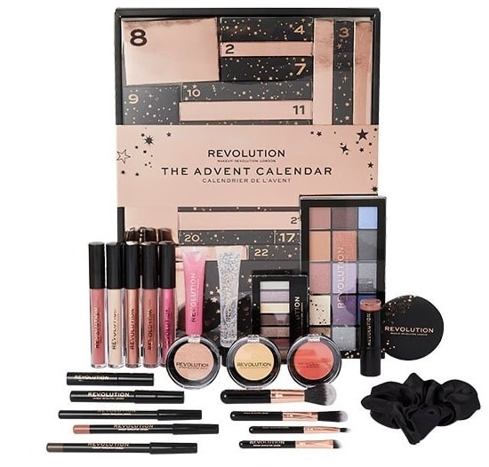 calendrier avent 2020 makeup revolution the advent calendar
