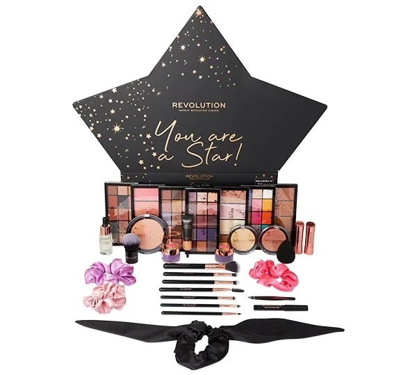 calendrier avent 2020 makeup revolution you are a star