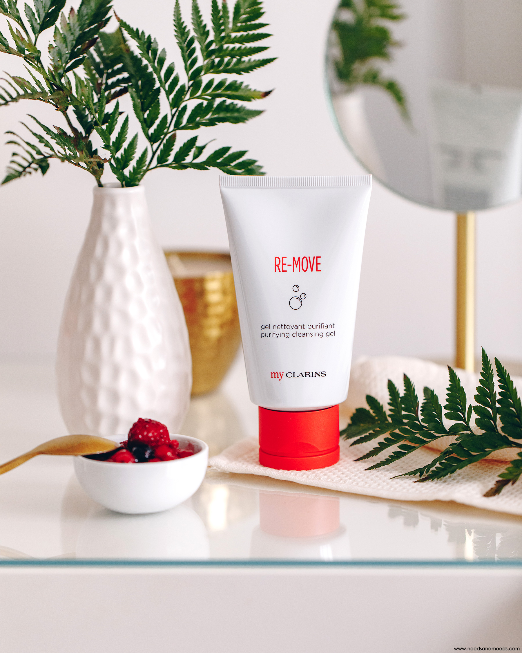 clarins my clarins re-move gel nettoyant purifiant avis