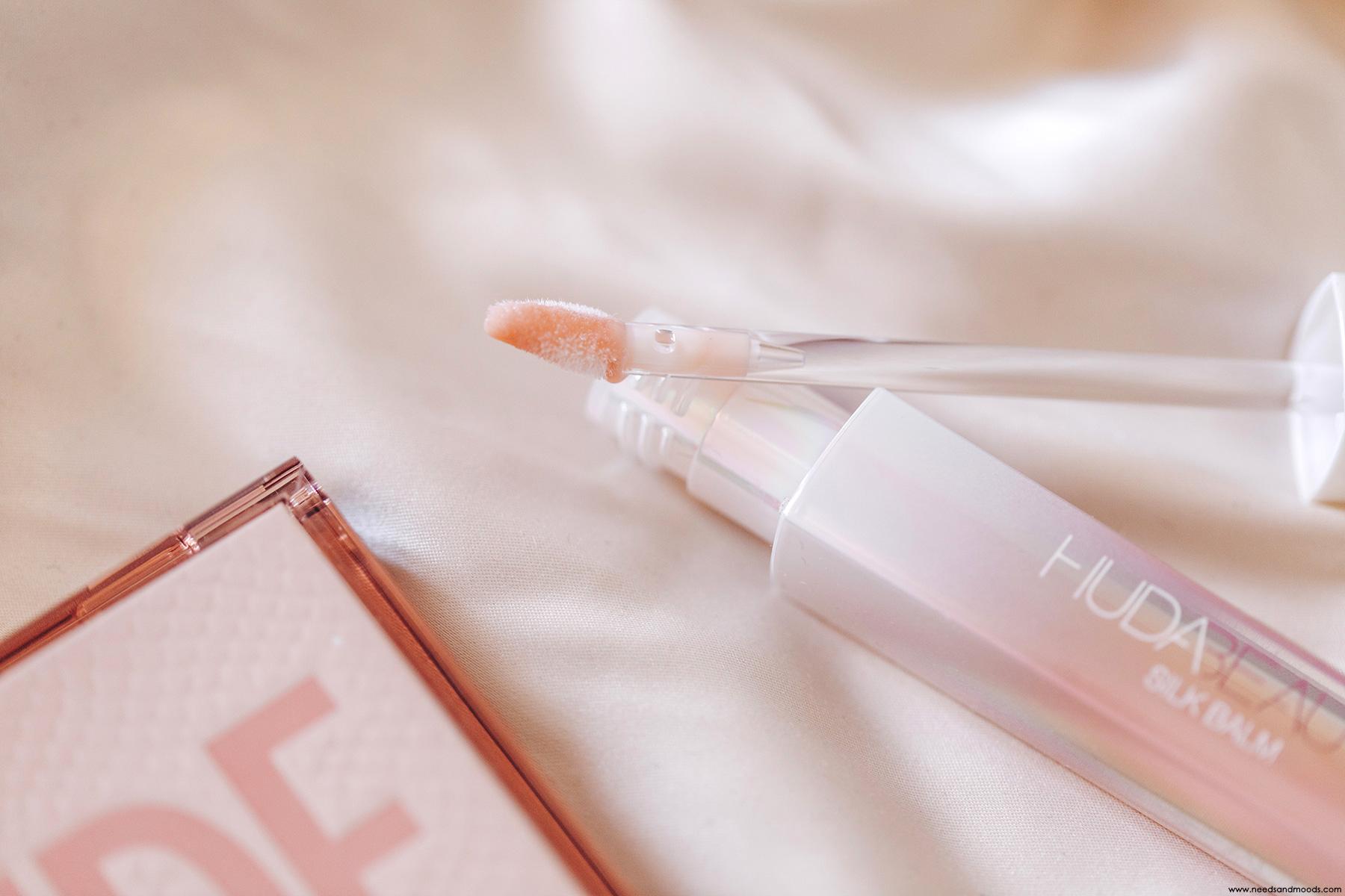 huda beauty silk balm test