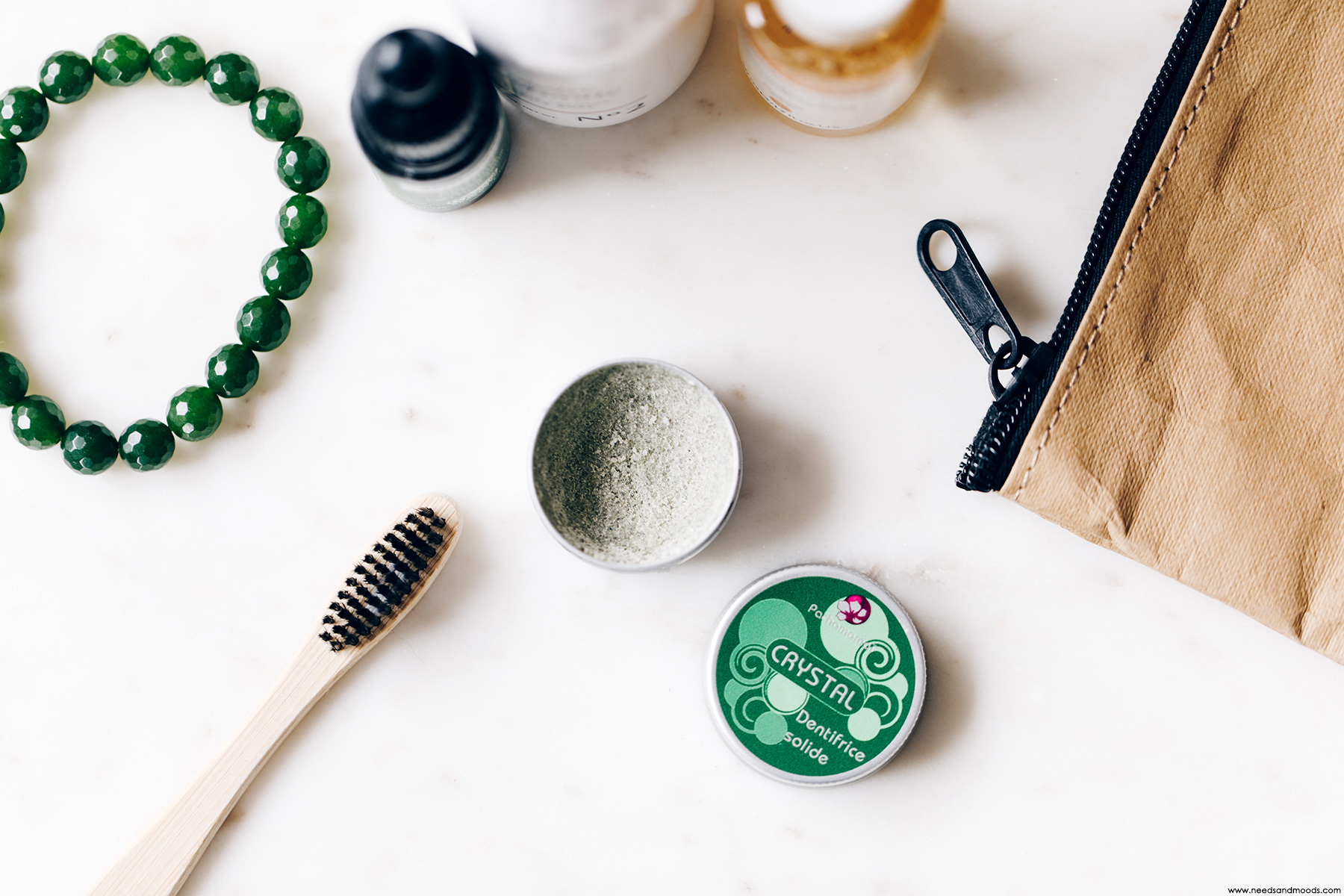 pachamamai dentifrice solide crystal menthe
