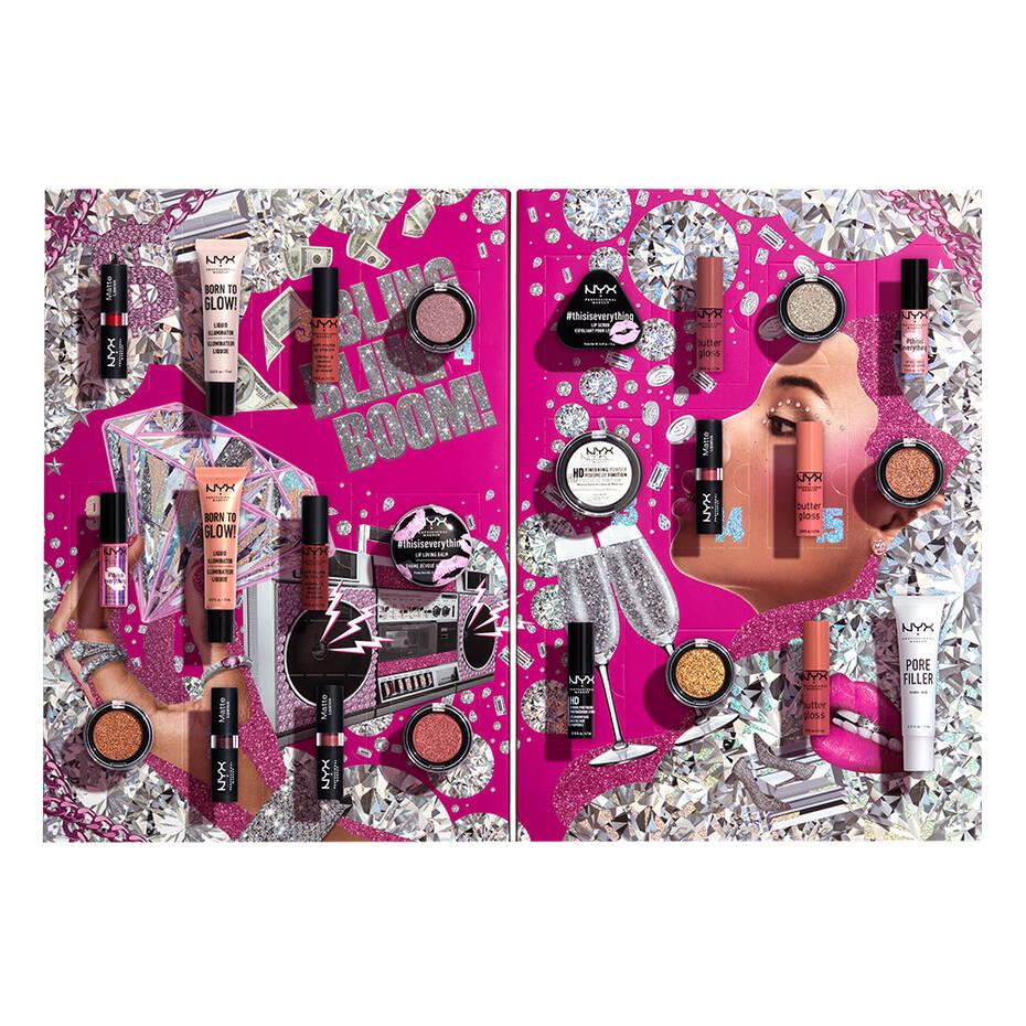 calendrier de lavent maquillage 2020 nyx