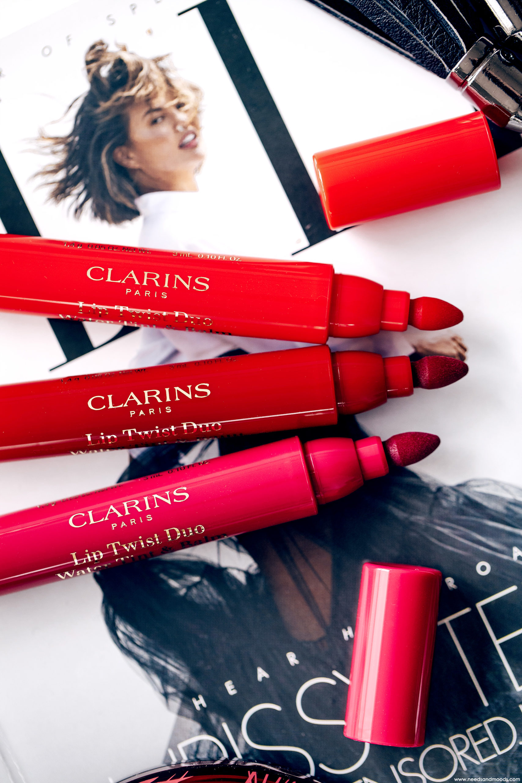 clarins lip twist duo test