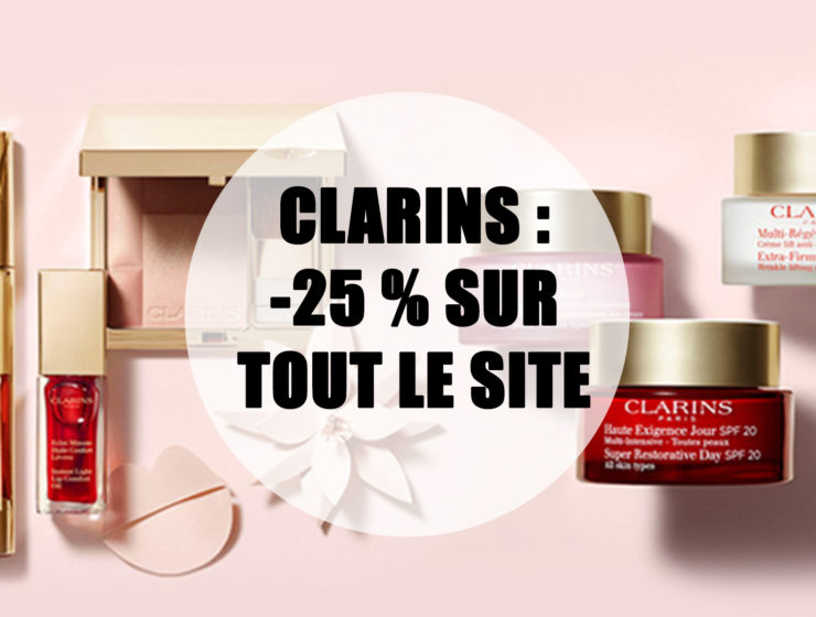 code-promo-clarins-aout-2020