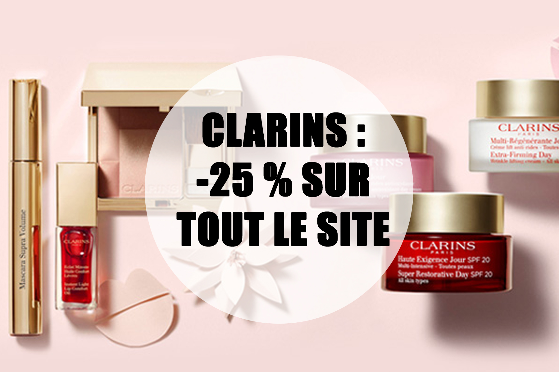 code promo clarins aout 2020