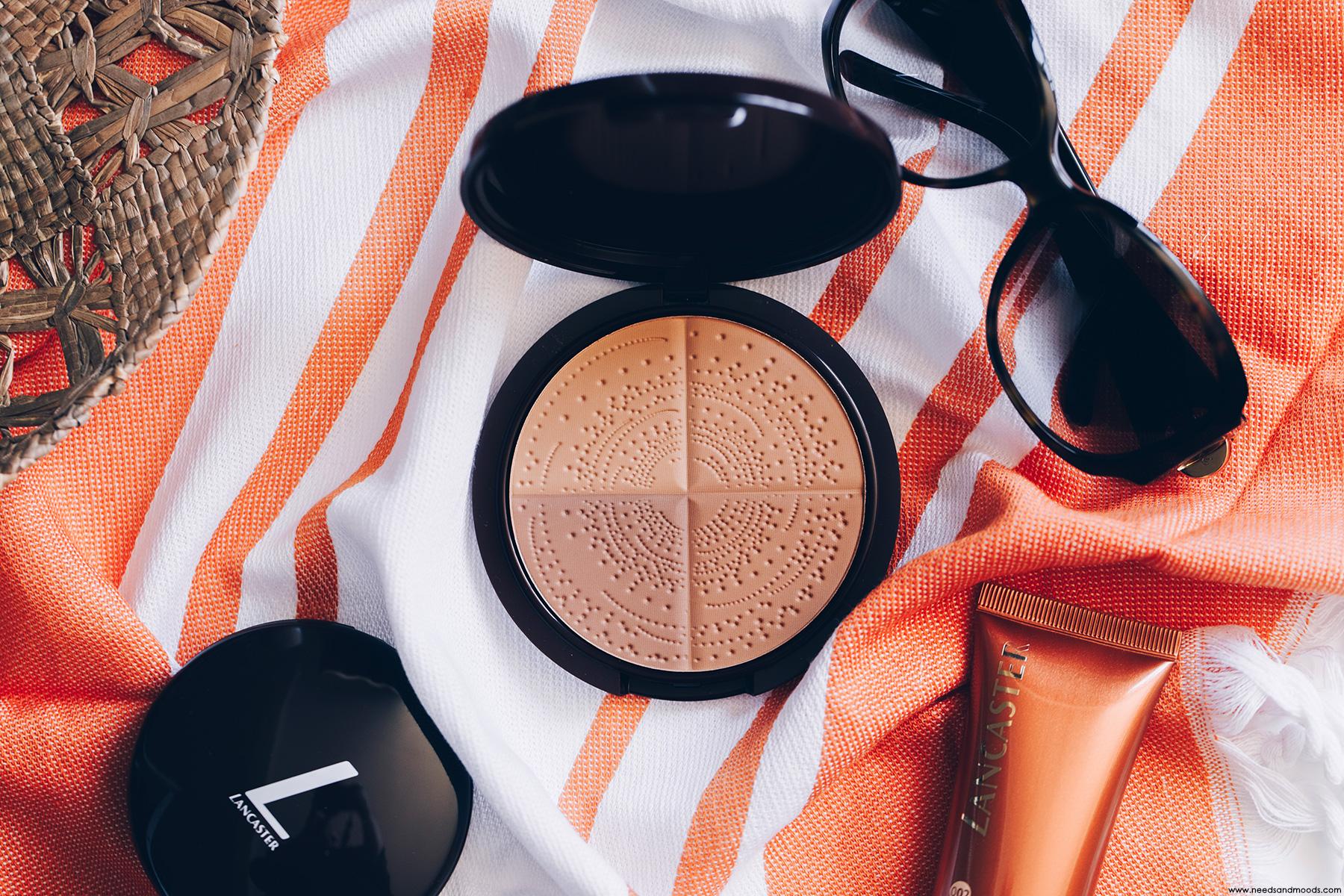 lancaster sun 365 sun make-up poudre bronzante protectrice spf 10