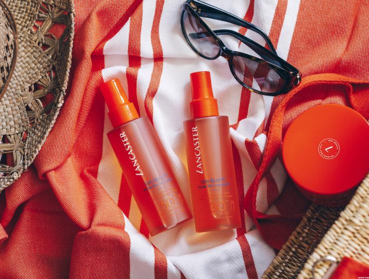 lancaster sun beauty nude skin sensation eau protection solaire