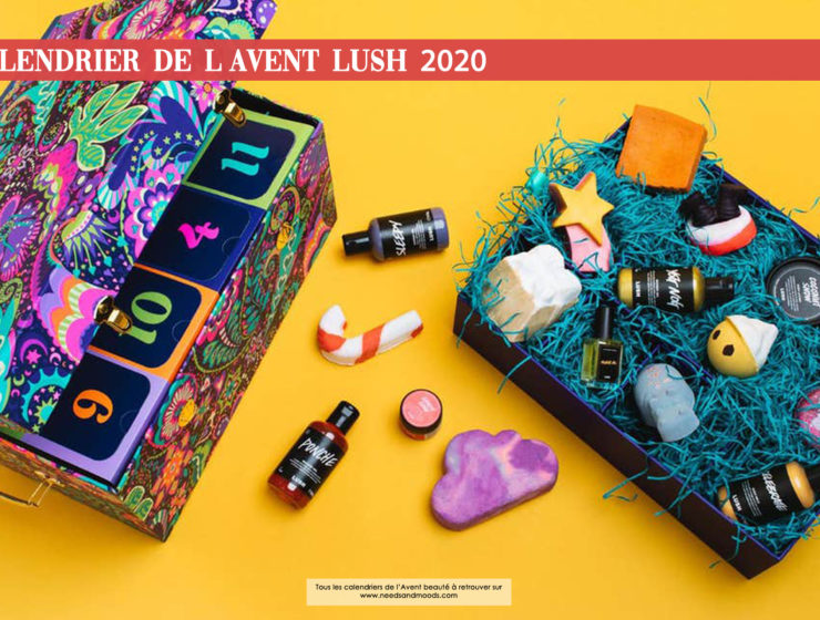 lush calendrier avent 2020