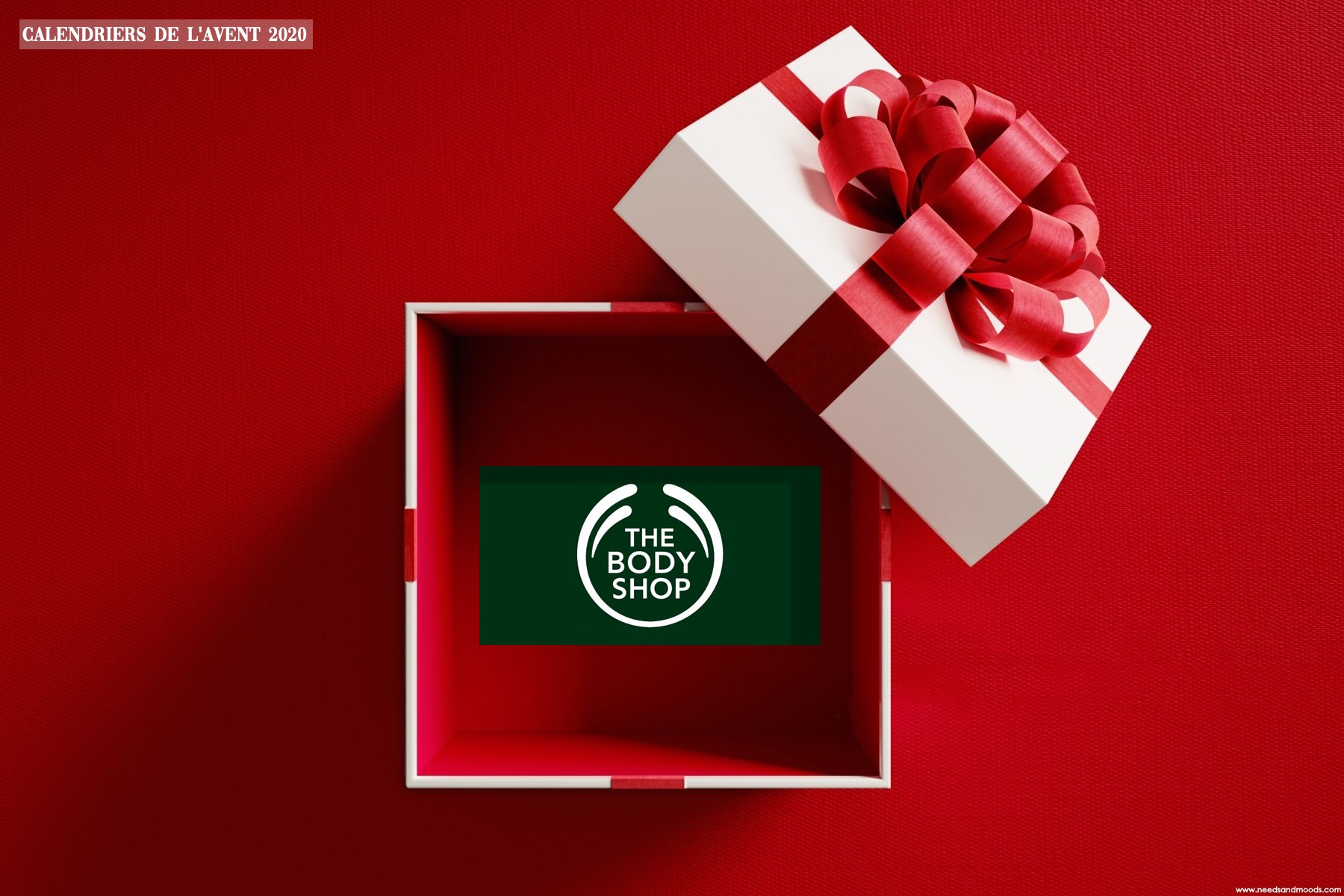 the body shop calendrier avent 2020