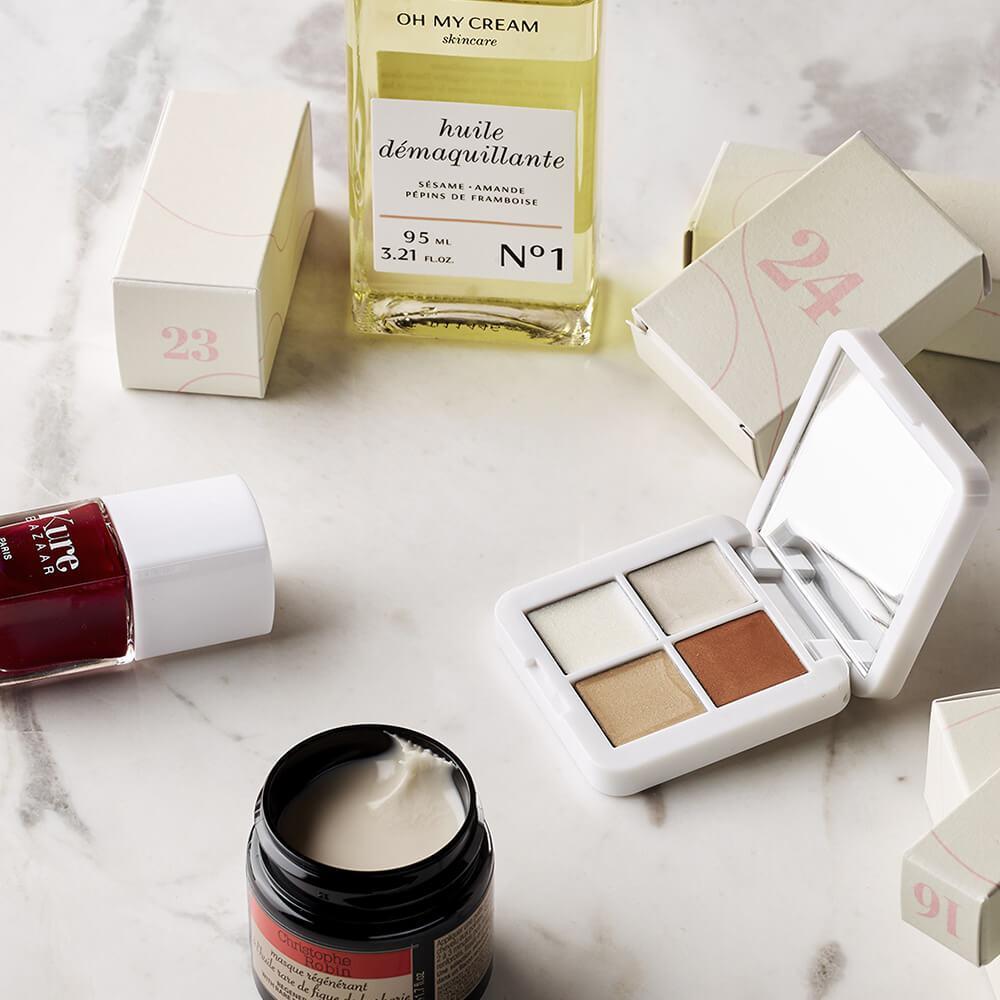 calendrier de lavent oh my cream 2020 avis test contenu spoiler