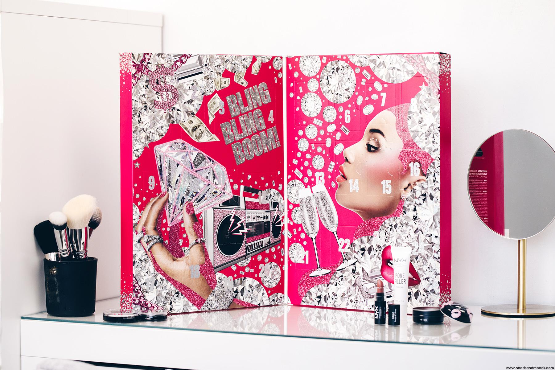 nyx professional makeup calendrier de lavent 2020