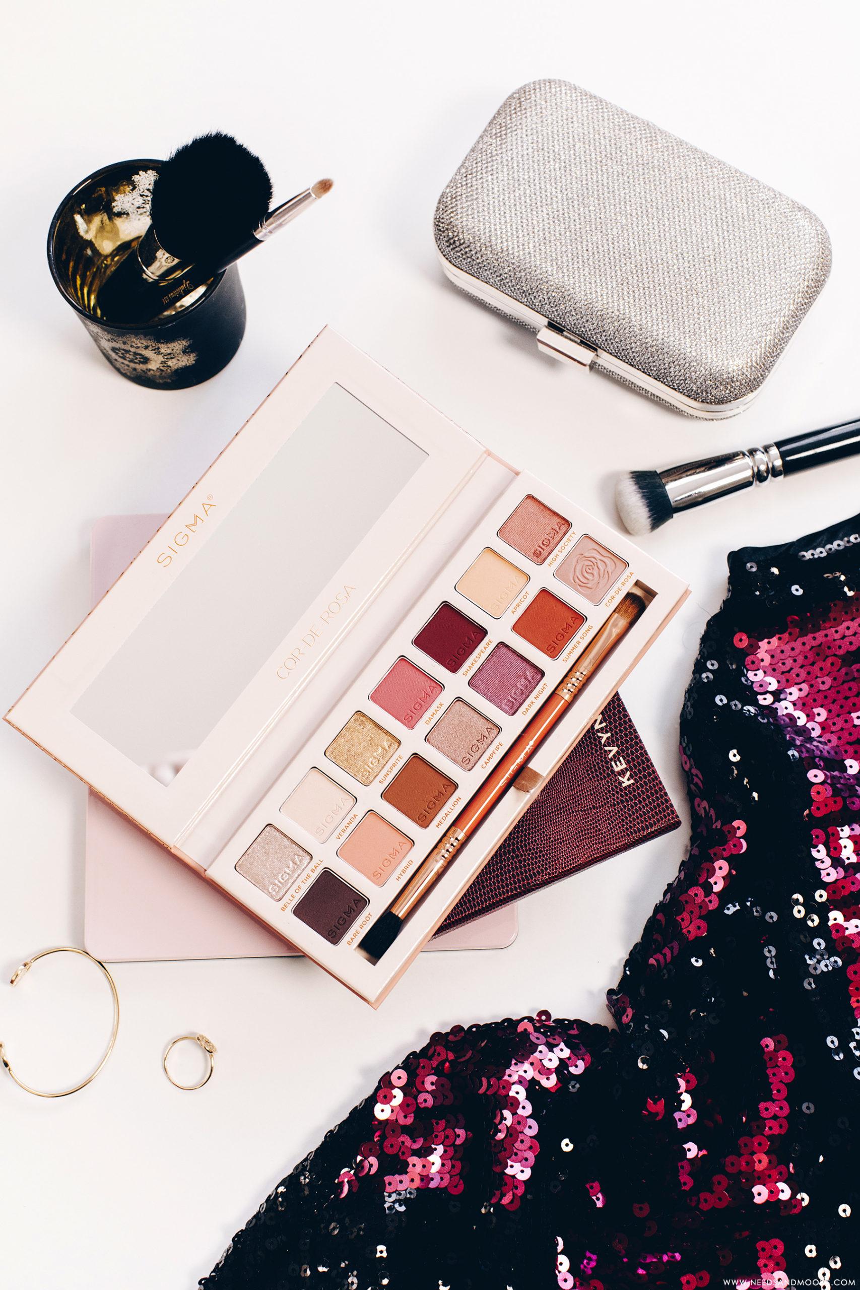beauty bay sigma cor de rosa eyeshadow palette
