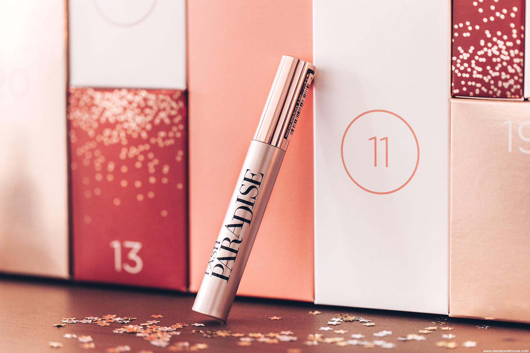 calendrier de lavent loreal mutli marques 2020 mascara