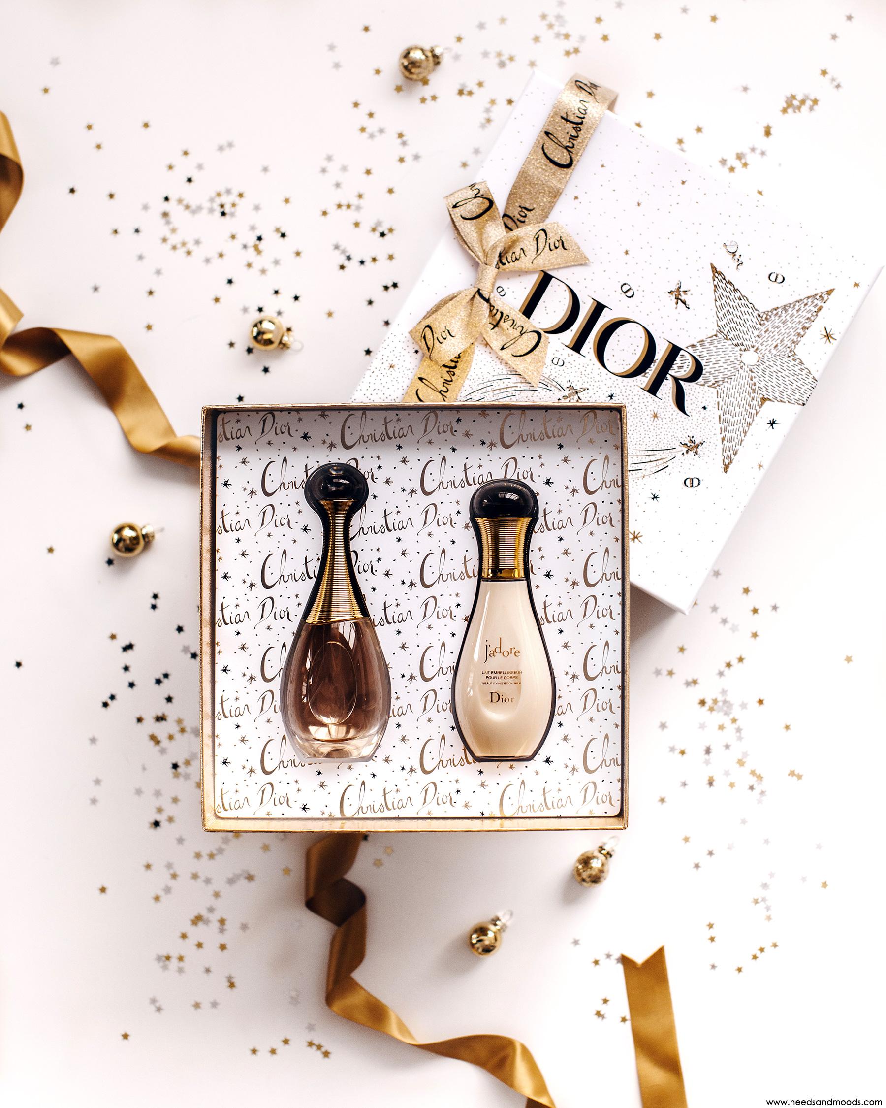 coffret parfum dior