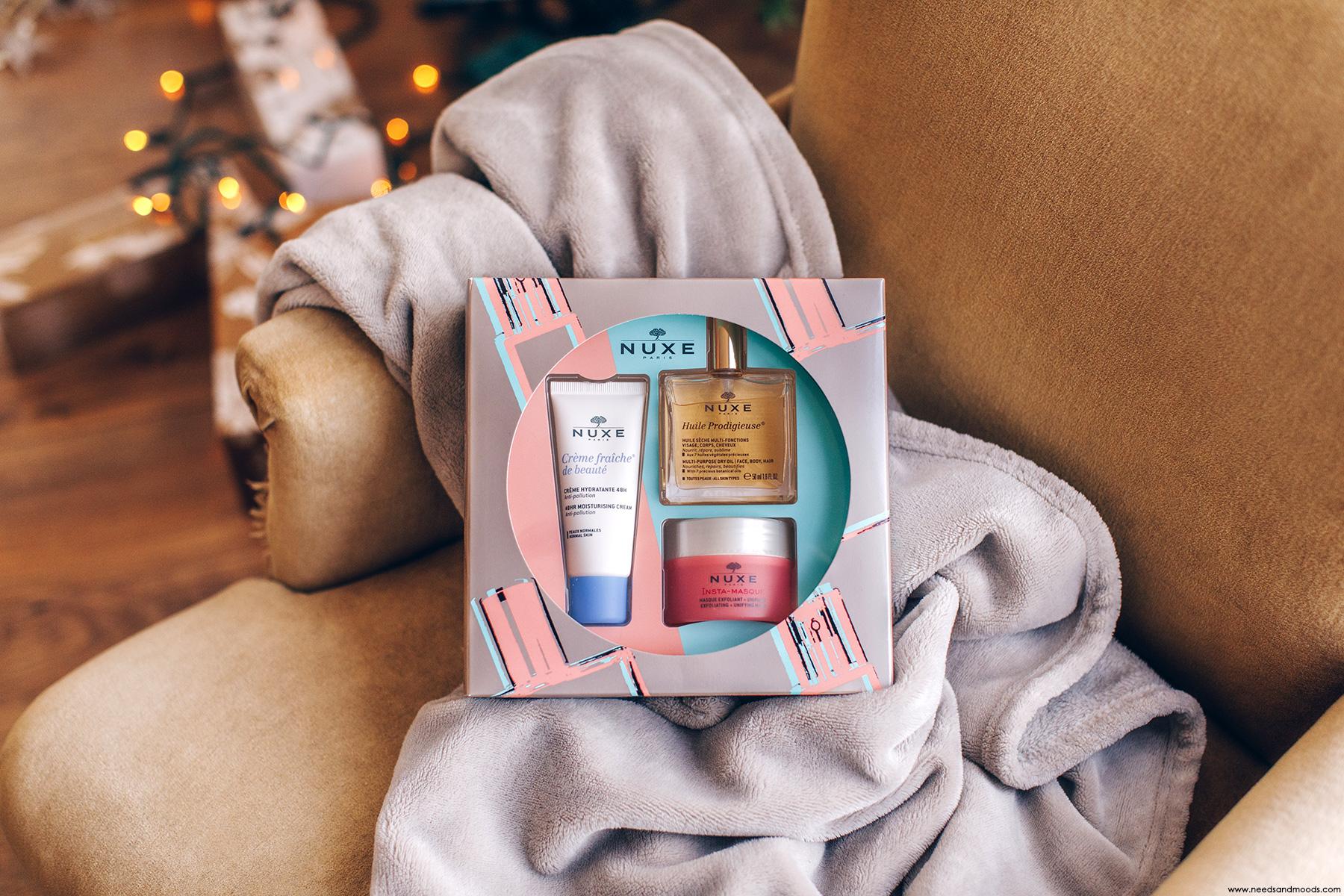 nuxe coffret cadeau essentiels visage