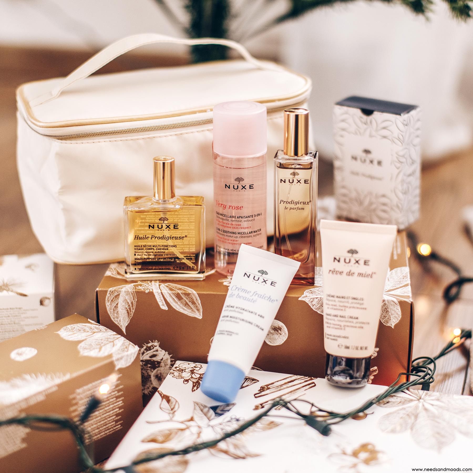 nuxe coffret cadeau vanity beaute contenu