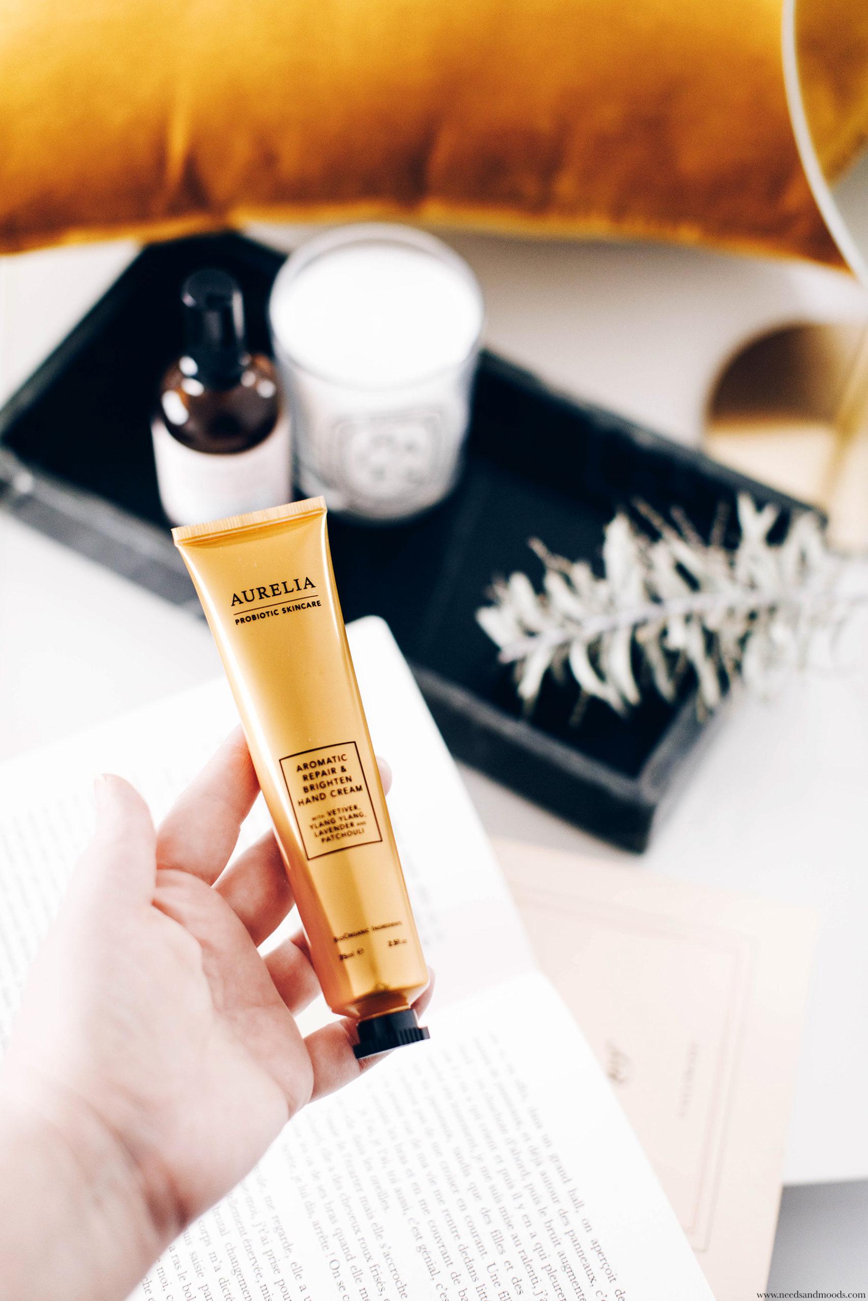 aromatic repair brighten hand cream aurelia london