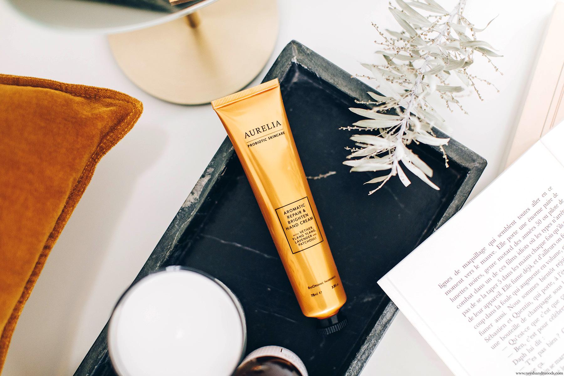 aurelia london aromatic repair brighten hand cream