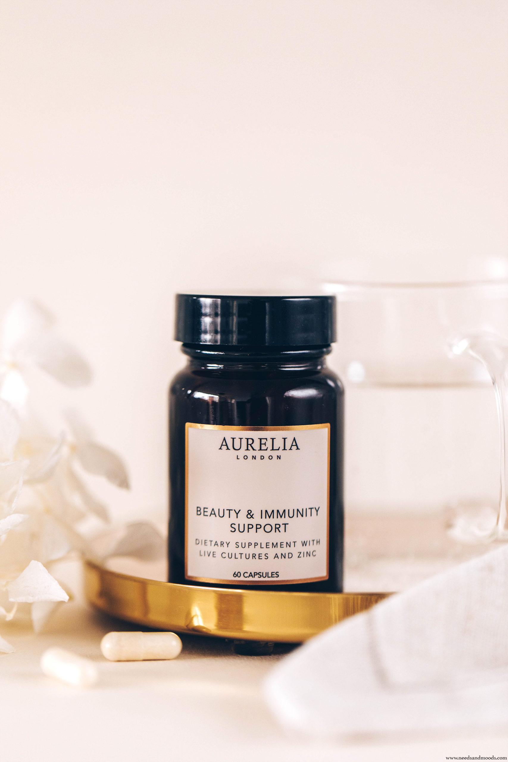 beauty immunity support aurelia london test