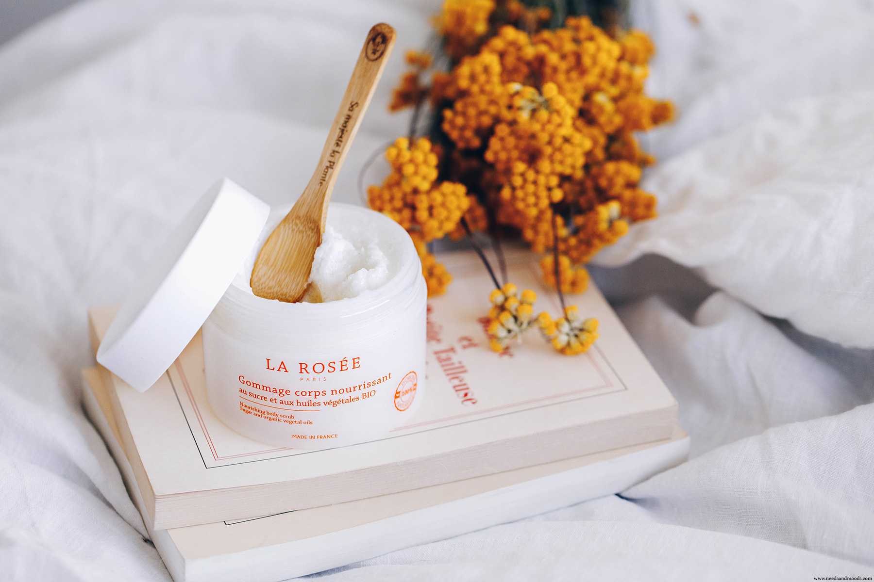 la rosee cosmetiques gommage corps nourrissant