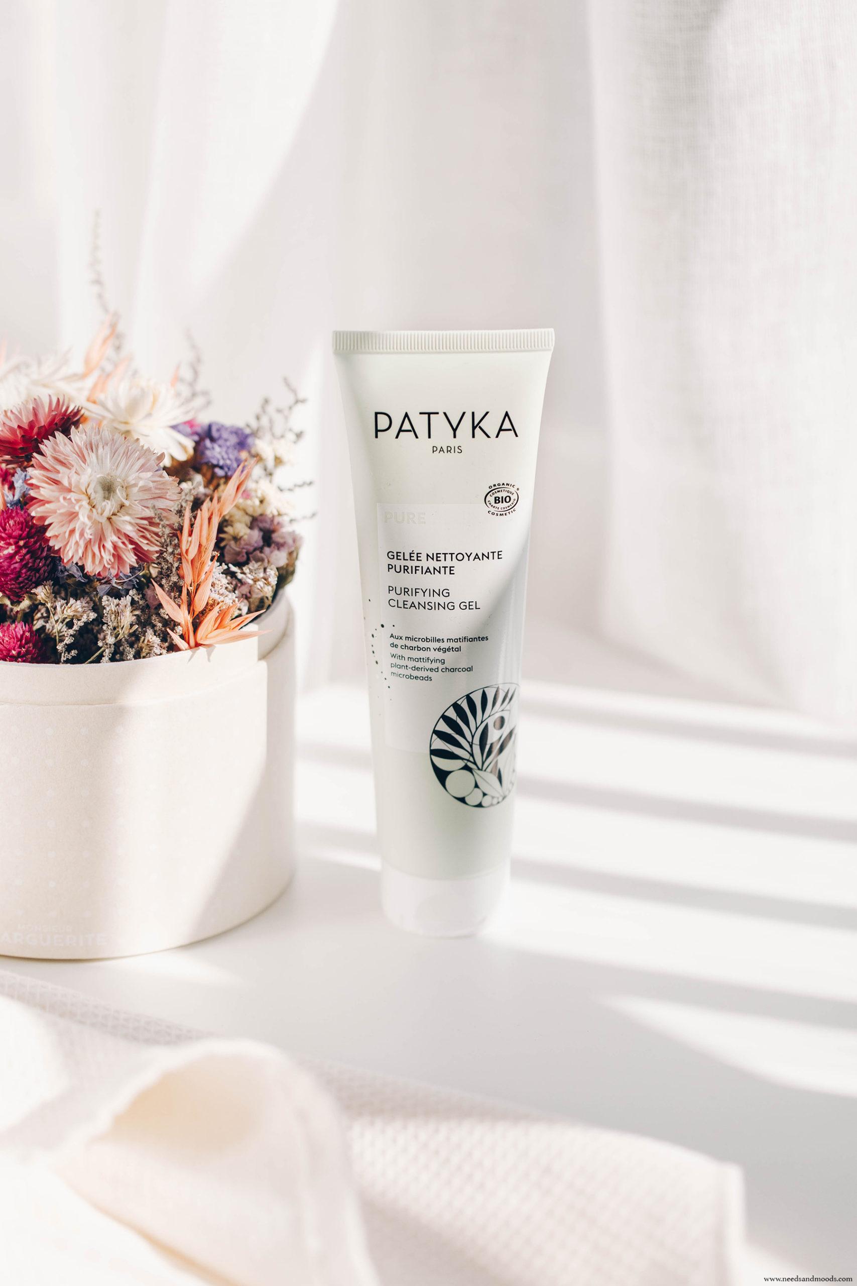 patyka nettoyant visage peaux mixtes grasses