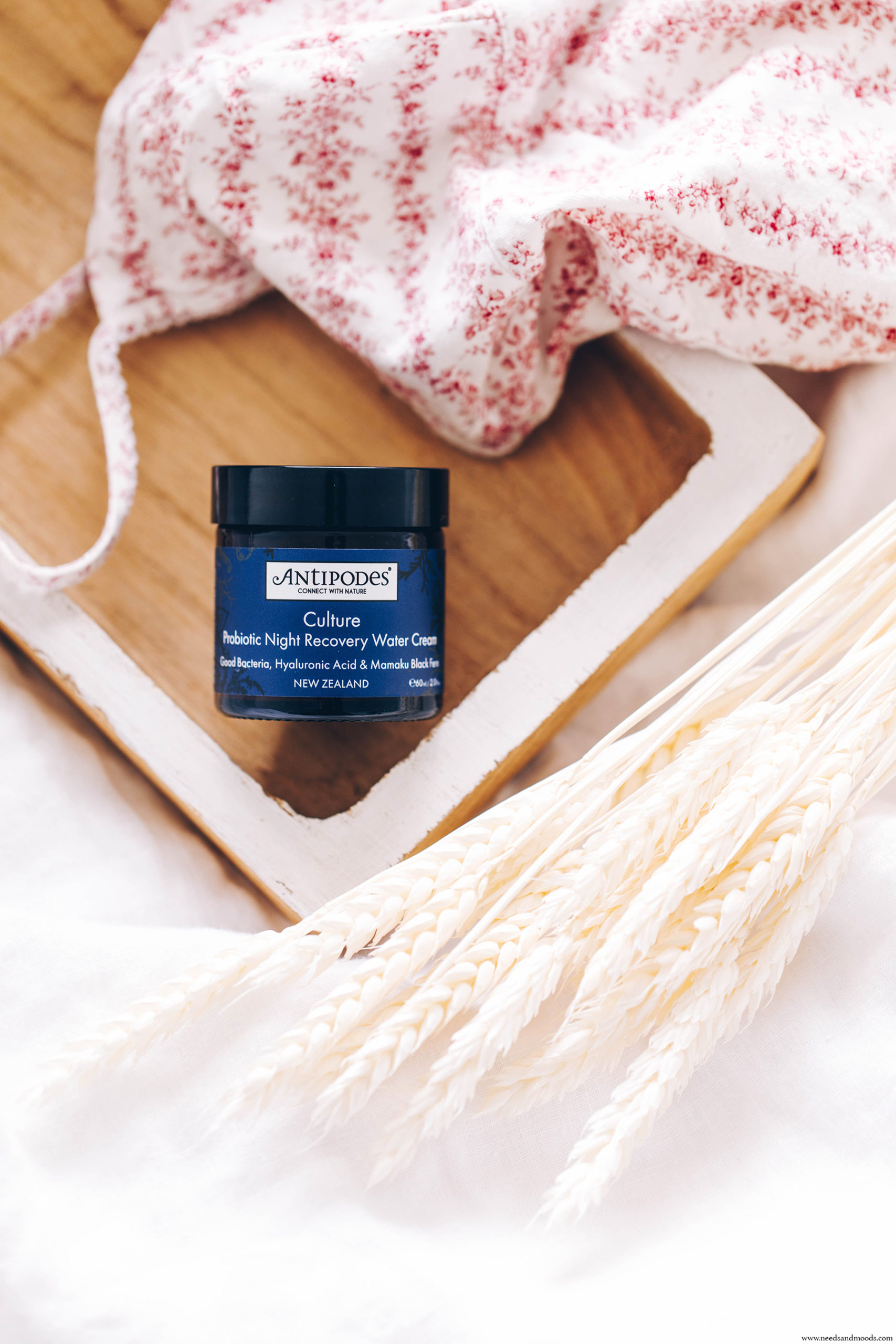antipodes culture probiotic night recovery water cream avis
