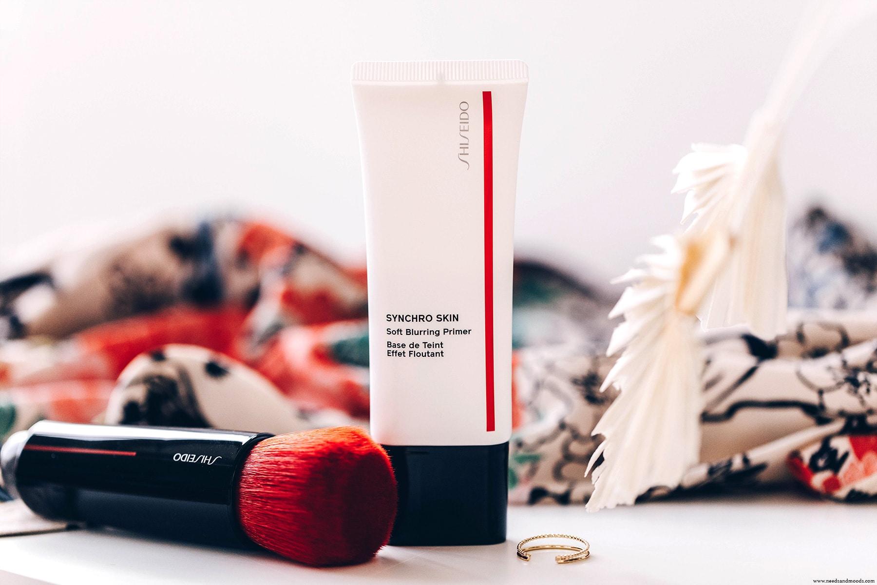 shiseido base teint effet floutant avis