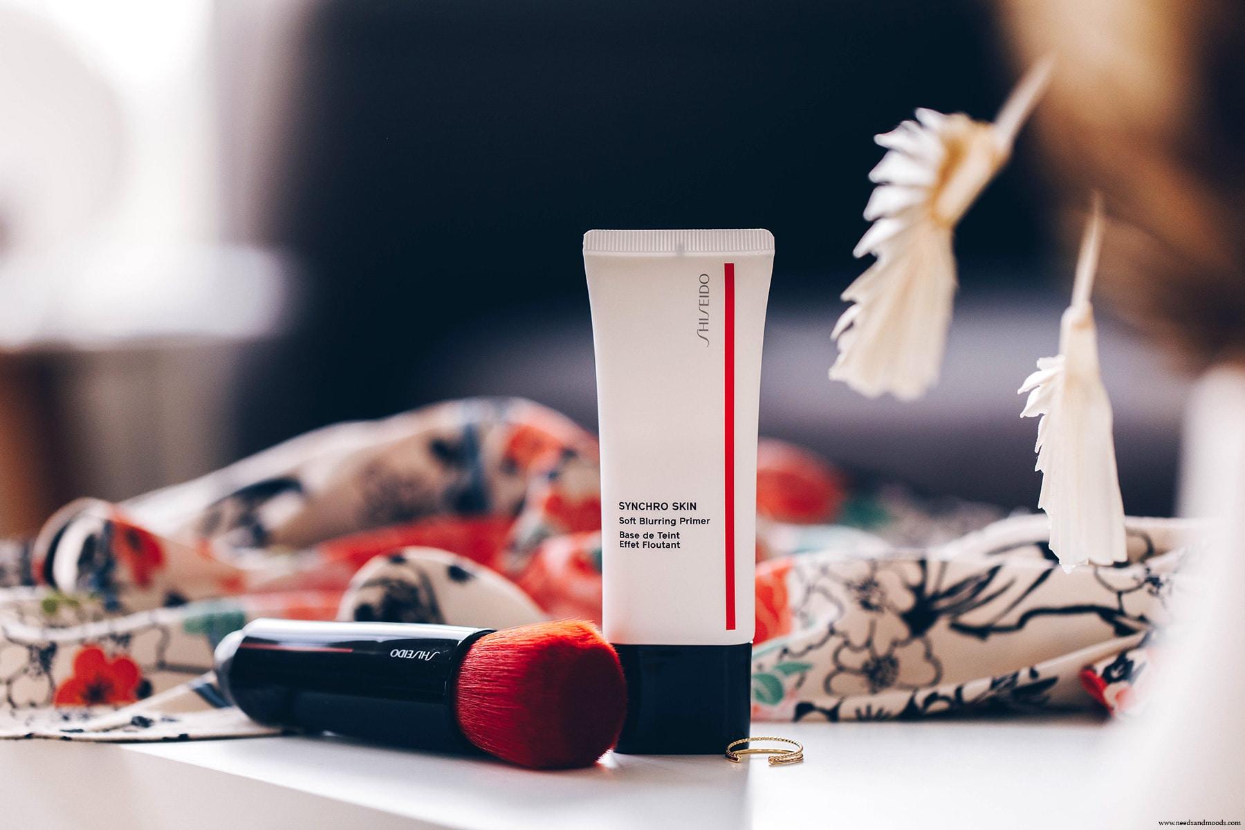 shiseido synchro skin base teint effet floutant avis