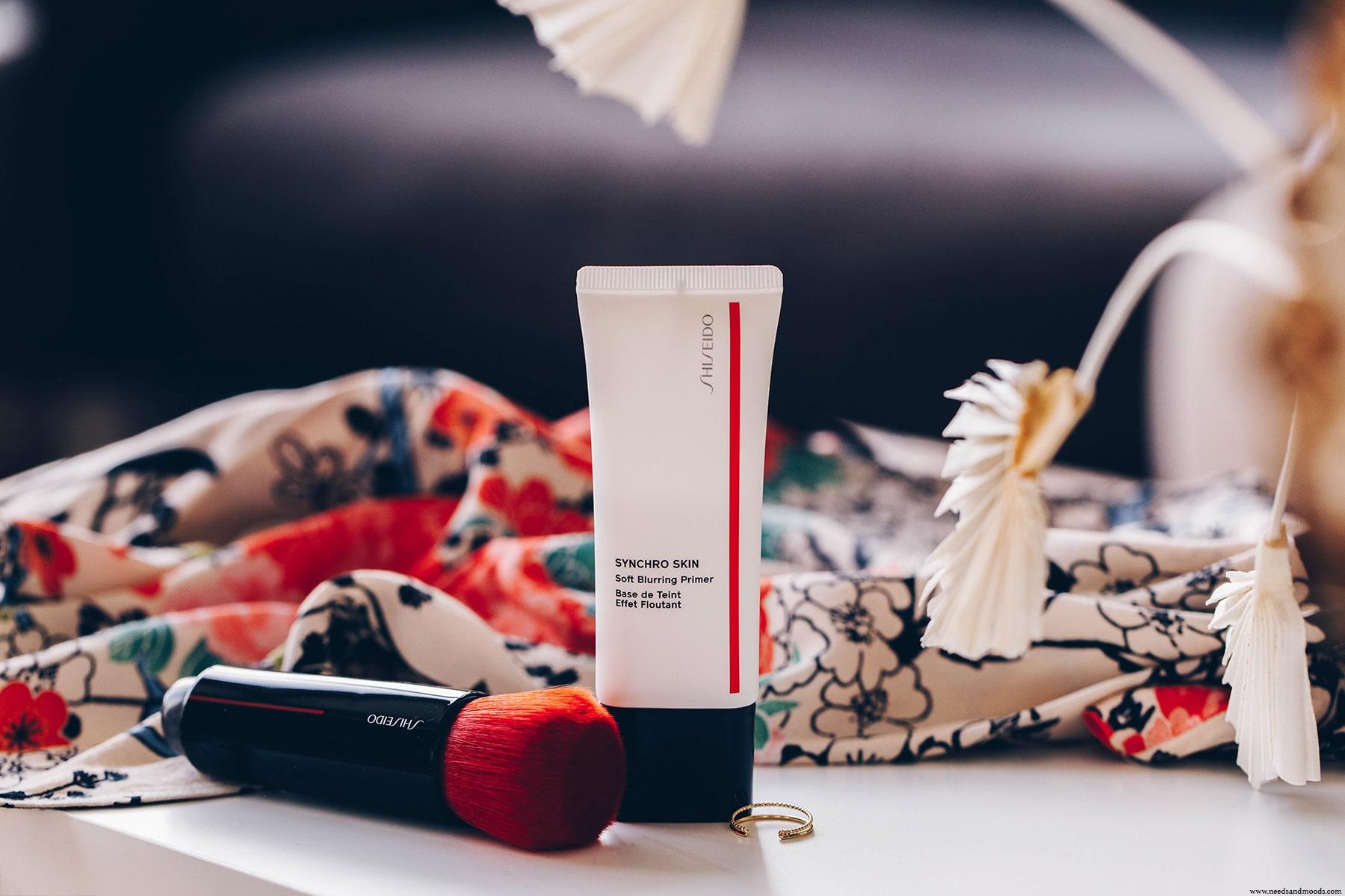 shiseido synchro skin base teint effet floutant