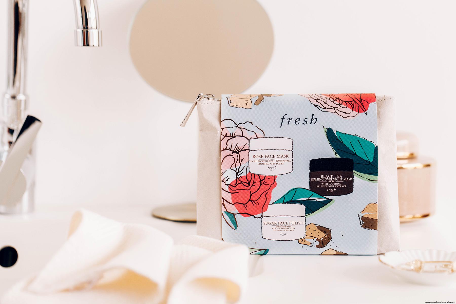 fresh beauty coffret cadeau soin visage