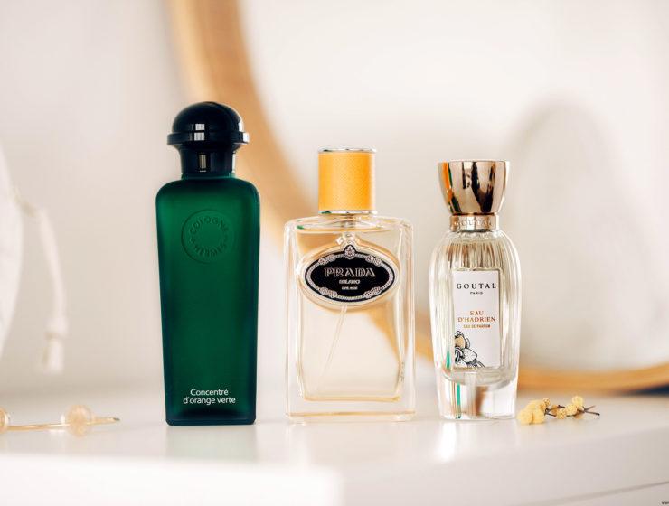 parfums agrume