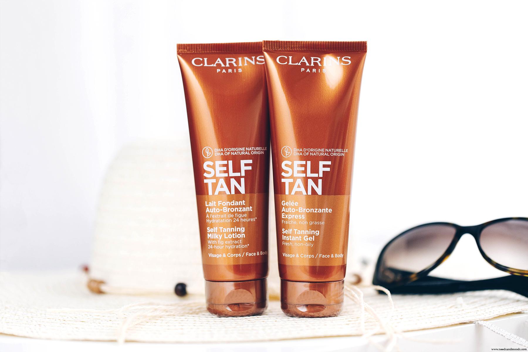clarins self tan lait fondant auto-bronzant