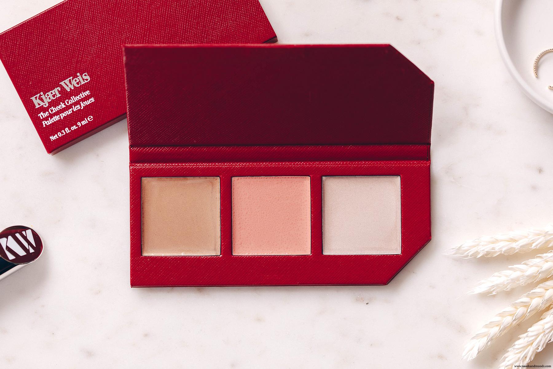 palette de maquillage clean