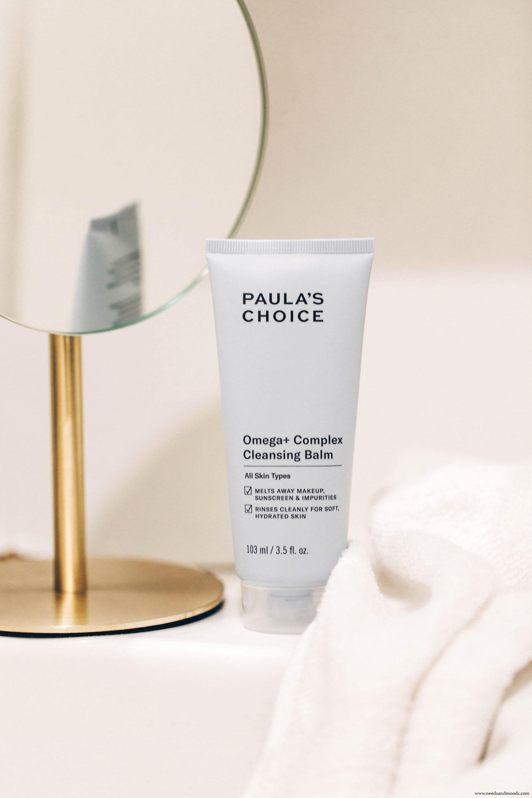 paula s choice omega + cleansing balm avis