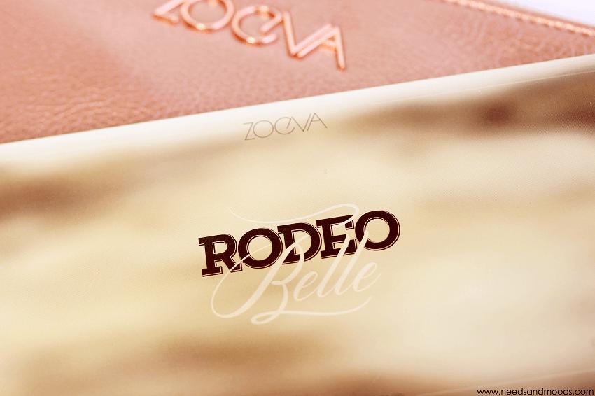 palette rodeo belle zoeva